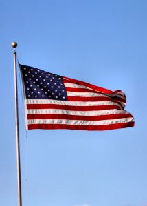 american_flag-on-pole-flapping-in-wind