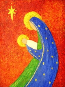 Nativity-art-painting-for-Susan-Gaddis-blog-225x300