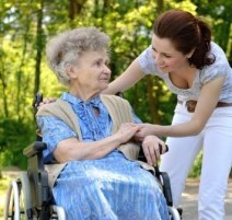 Image result for nursing home person